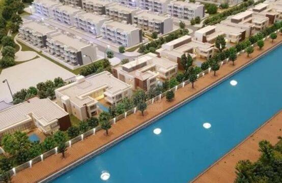 Canal Villa Plots with Basement Permission