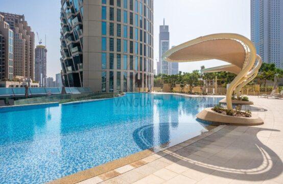 Amazing Deal! High Floor 3 Bedroom+Maid's Room in Burj Vista 1