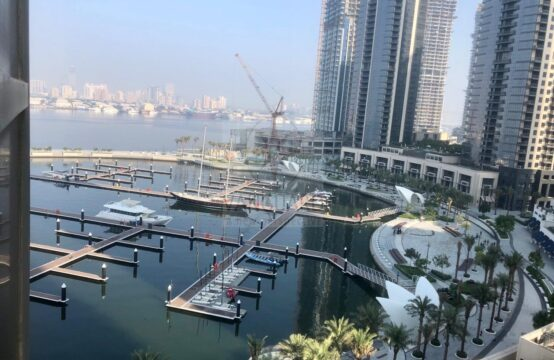 2 Bedroom with Creek Water View in Dubai Creek Residence 3 South Tower