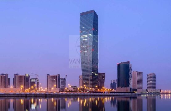 Large Layout 1 Bedroom Furnished in UBORA Tower 1