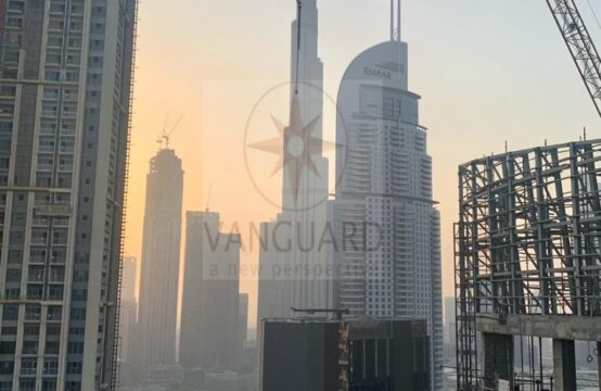 Spacious & Beautiful 3 Bed Penthouse on High Floor with Burj Khalifa View